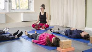 Amy West Yoga Savasana