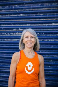 Vicki from YogaWithVickiB yoga teacher