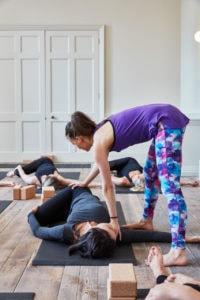 Consuelo Yoga class
