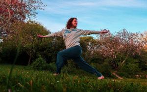 Outdoor Yoga Brighton Queen's Park