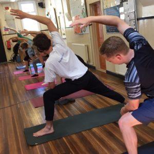 youth yoga scouts hut weybridge