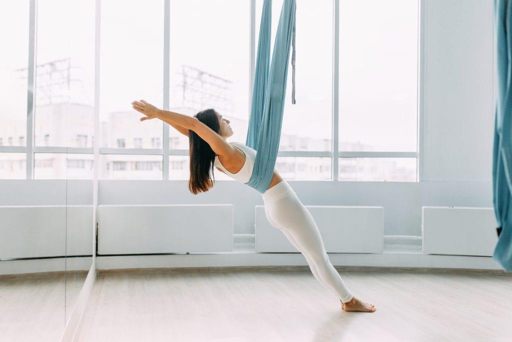 Aerial Yoga Postures