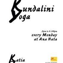 Kundalini Yoga @ Anahata Health Clinic
