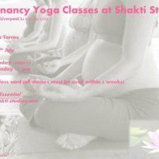 Antenatal/Pregnancy Yoga at Shakti Studios