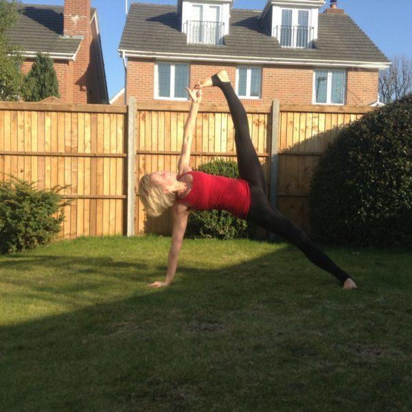 Yoga flow with Suzie