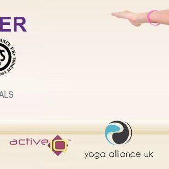 Yoga Teacher Training  20th Sept 2015 YA200hrs YA200hrs with Active IQ Level 3 Diploma in Teaching Yoga