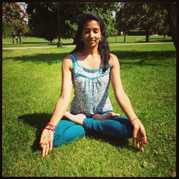 Somita Basak Dancer and Yoga Teacher