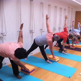 Lisa morris Iyengar yoga