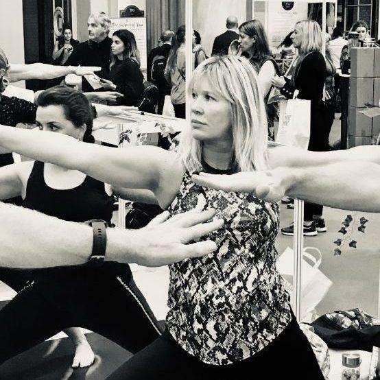 Caroline Garland yoga
