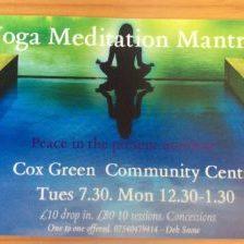 Cox Green Yoga Meditation Mantra