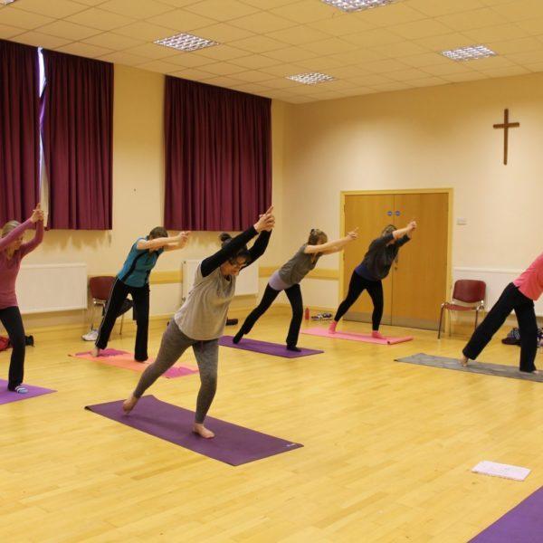 Intermediate yoga in Shfnal
