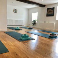 Madeleine Scott Yoga Studio in Pitney, Somerset. Nr Langport and Somerton