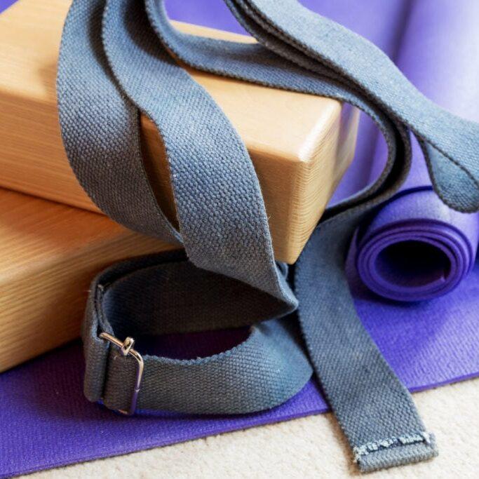 Iyengar Yoga Session